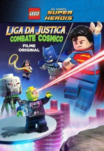 Liga da Justiça Lego - Combate Cósmico